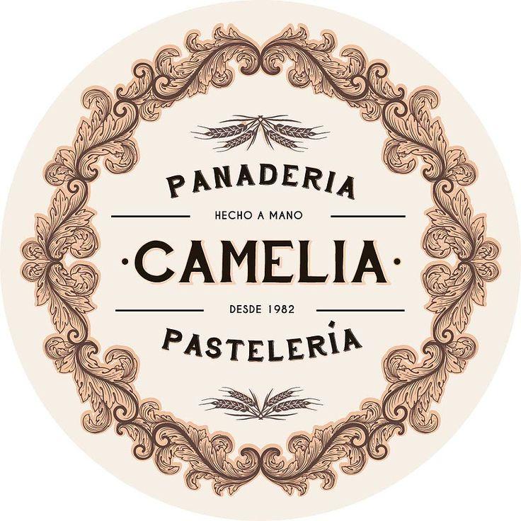 """Camelia fue un proyecto para unas panaderías pastelerías de Madrid. Un estilo de """"la belle epoque"""" de París que le da un toque muy atractivo.    En el proyecto tuve que realizar, a parte de todo el proceso del branding, el retail styling de la tienda colocando unos cuadros con ilustraciones que gustaron mucho."""