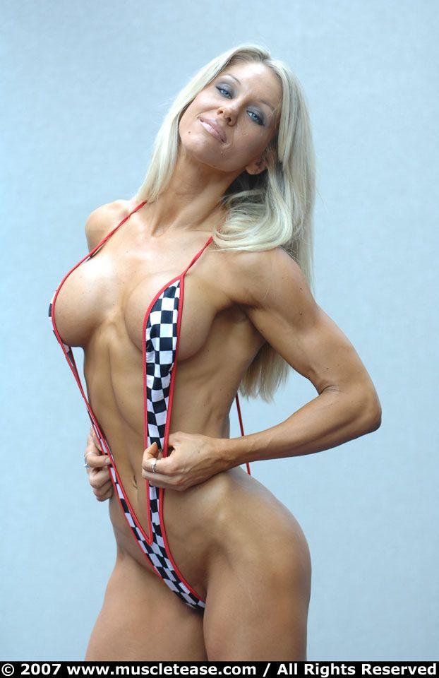 Danielle derek blue micro bikini anal 4