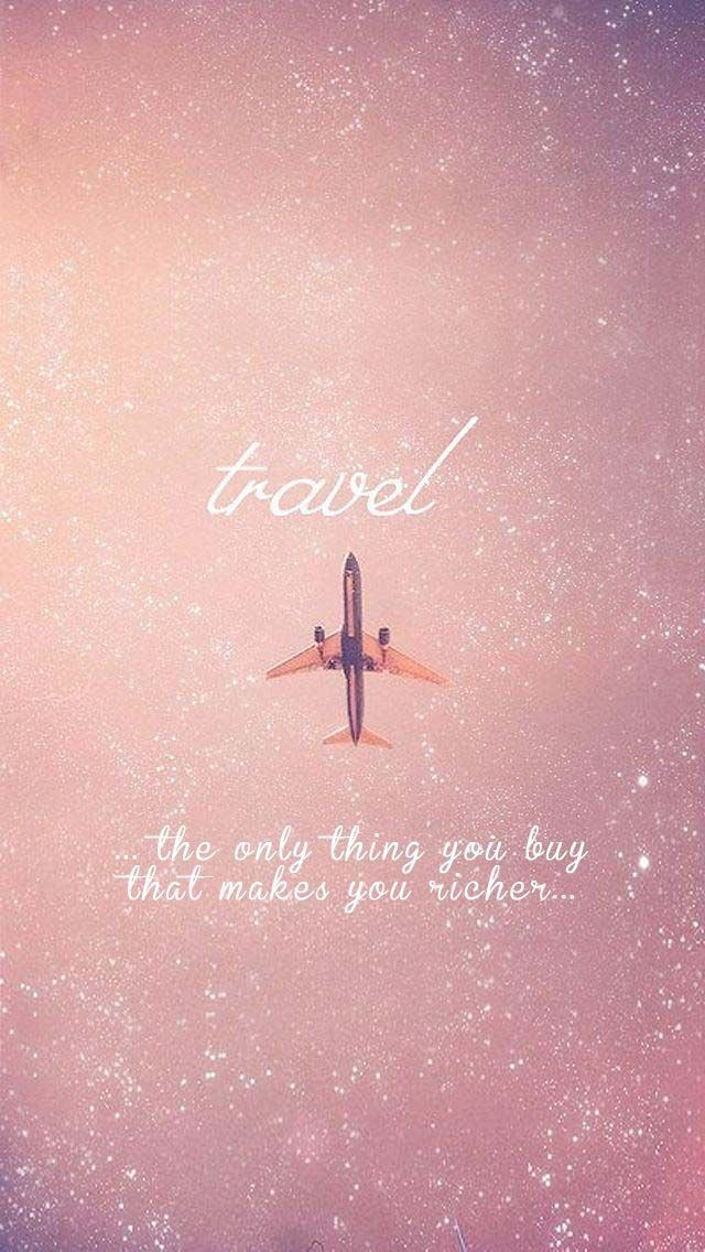 Travel - the only thing you buy that makes you richer.