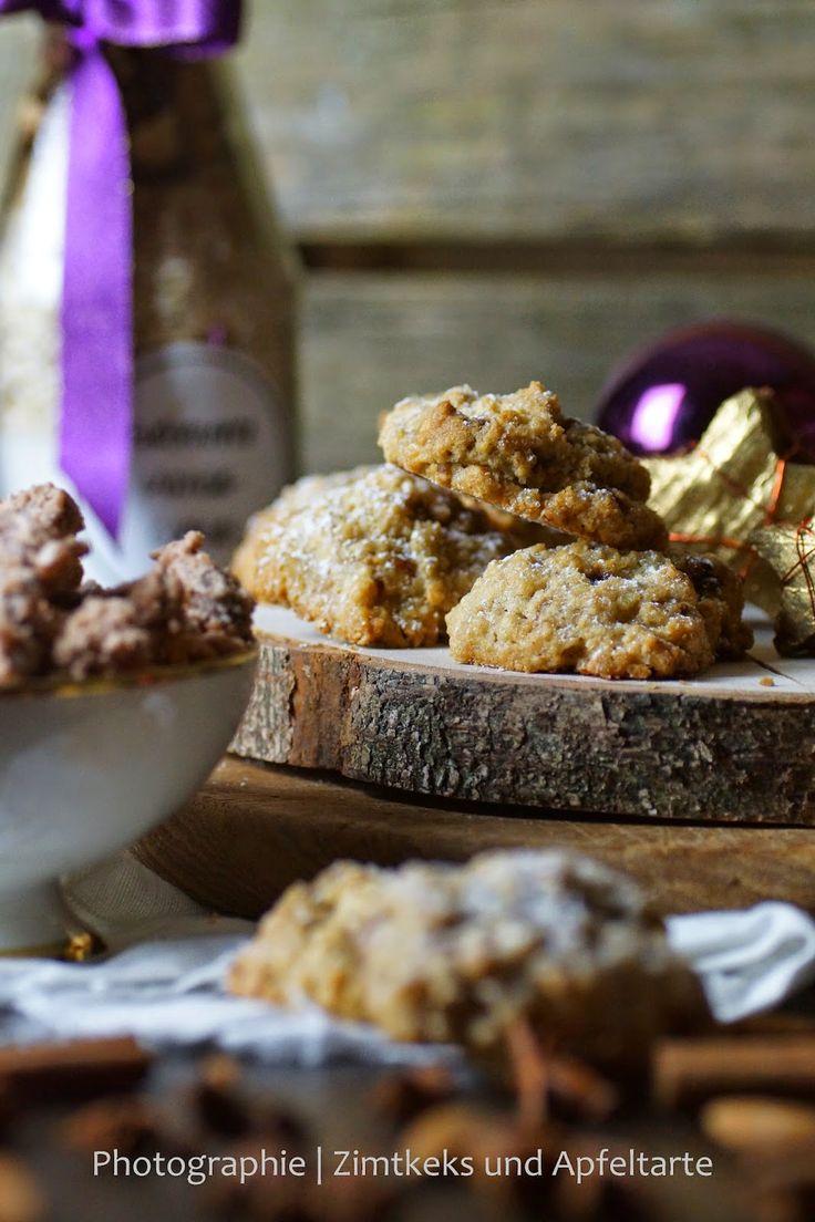 Gebrannte Mandeln, easy-peasy-Cookies und auch noch 'ne Backmischung...  von Zimtkeks und Apfeltarte