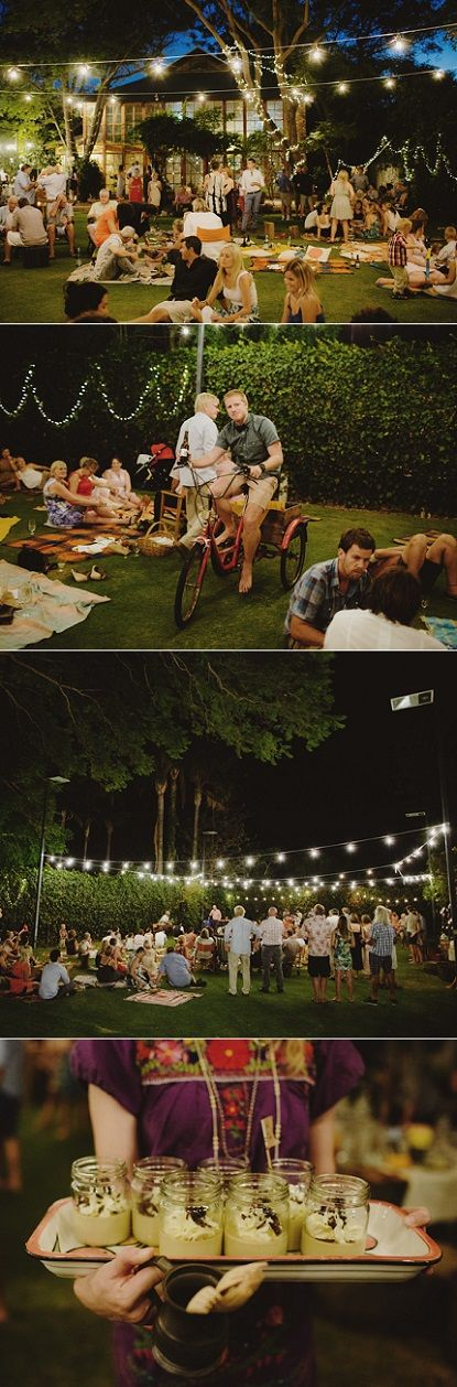 Picnic Style Wedding in Australia - Sounds fun to just do as a party