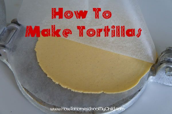 Homemade, Homemade tortillas and How to make homemade on Pinterest