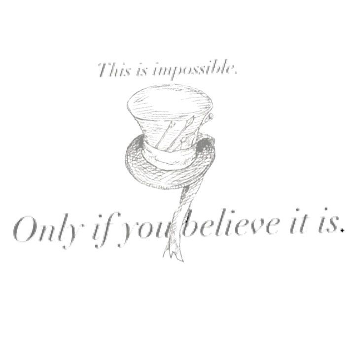 Mad hatter tattoos quotes - photo#12
