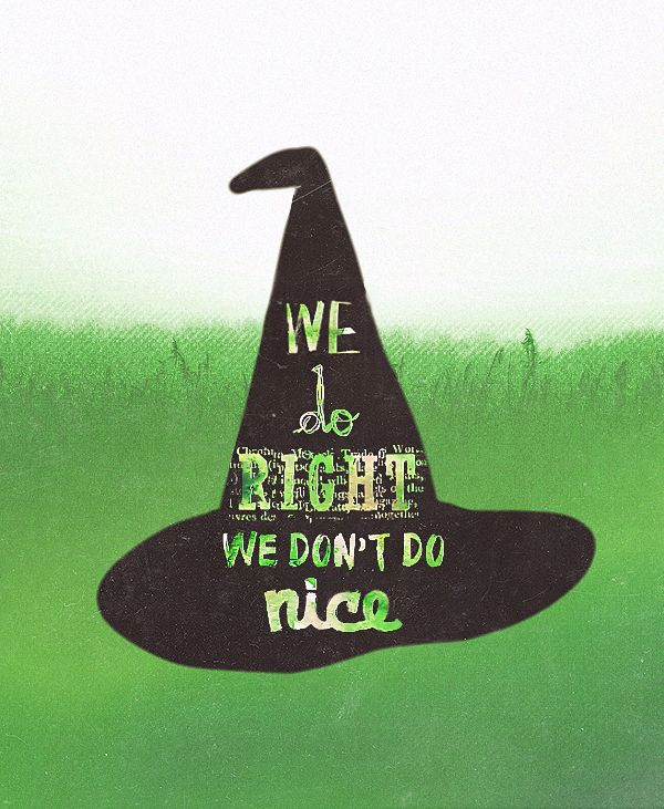 """You are a witch and you know what Granny Weatherwax always says: We do right, we don't do nice."""