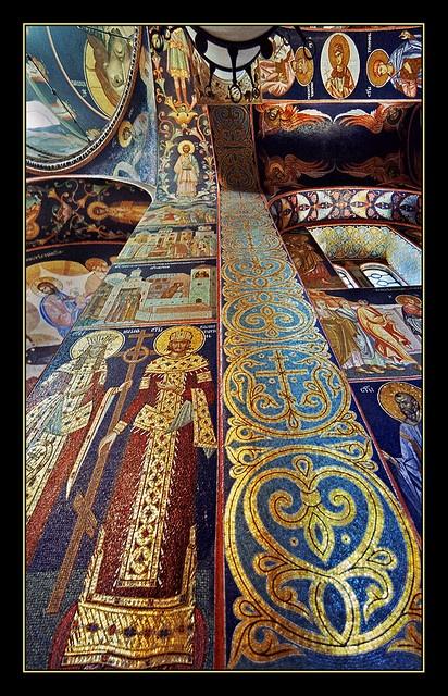 St. George church in Oplenac - Serbia  mosaic. by Katarina Stefanović  on flickr