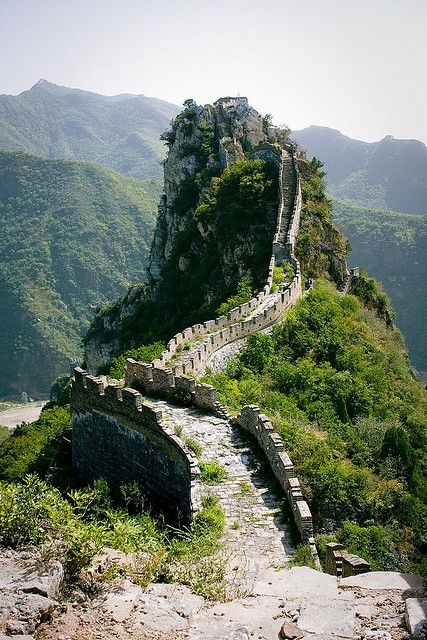 Great Wall of China - I wanna race someone