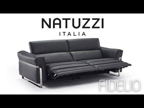 Fidelio Natuzzi Italia sofa - YouTube
