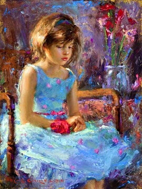 Fine Art and You: Pinturas bonitas por Bryce Cameron Liston | Artista americano | 1965