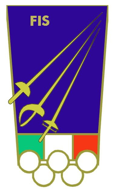 The logo of the Federazione Italiana Scherma.