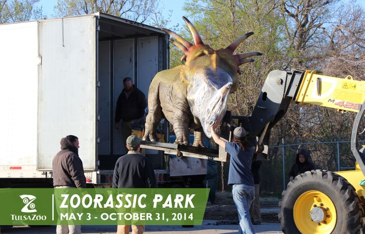 Zoorassic Park opens May 3! Learn more at www.tulsazoo.org/roar #roartulsa