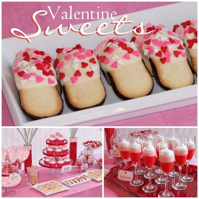 Sweet Valentine's Day Party | Buffet, Creative and Holidays