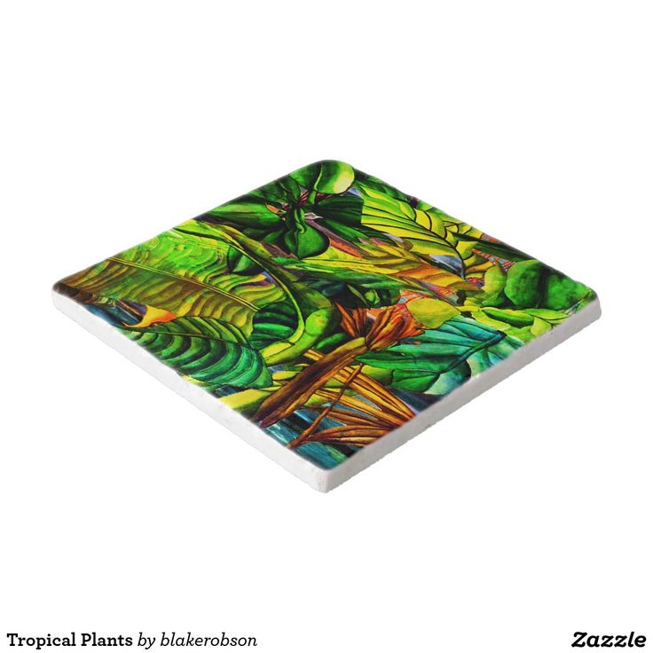 Tropical Plants Trivet