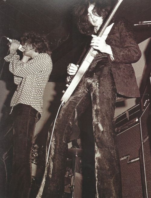 Plant & Page ~ Led Zeppelin Early Days