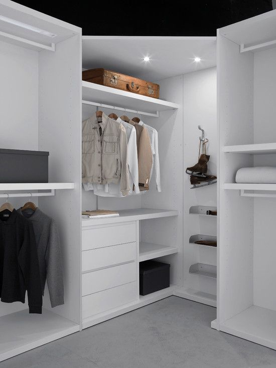 153 best images about walk in closet organized closet for Organized walk in closet