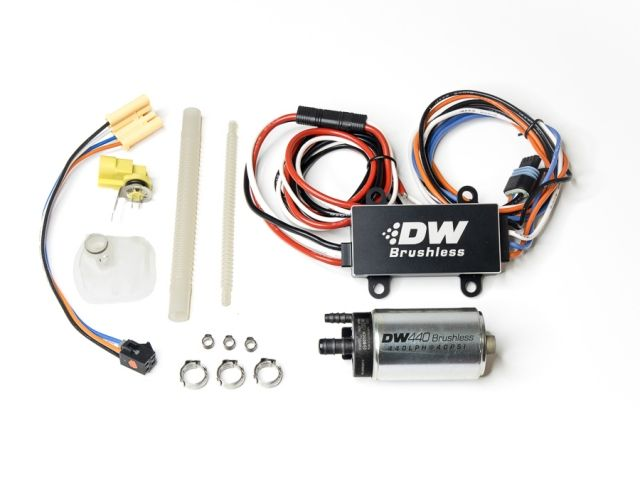 Deatschwerks Dw440 Brushless Fuel Pump W Dual Speed Controller 2011 2014 Mustang Gt F 150 9 441 C102 0907 Mustang Gt 2014 Mustang Submersible Pump