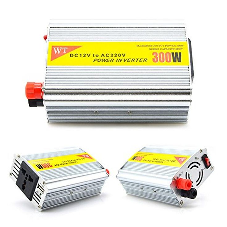 Mobile Power Inverter,VAlinks(TM) Modified Sine Wave Inverter DC 12v/24v to AC 220v/110v 300W Car Solar Power Inverter with USB Charger Adapter (300w Vechile Inverter) - Brought to you by Avarsha.com