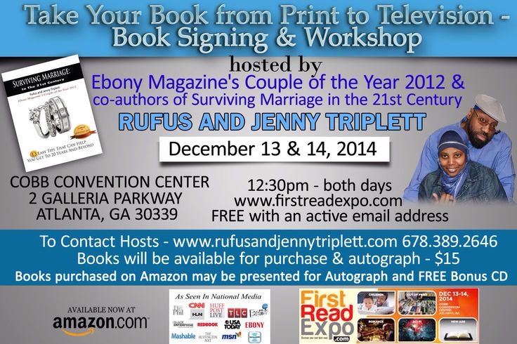 Book Signing & Workshop in Atlanta