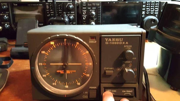 Yaesu G-1000DXA Control Box and Rotor