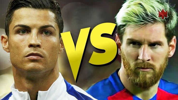 Cristiano Ronaldo vs Lionel Messi - Top 10 Skills - 2016/17 HD