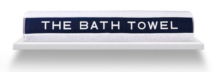 The Bath Towel by Cottera #keepondrying