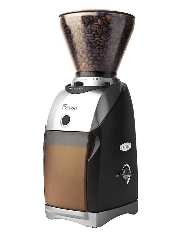 Лучший домашний Кофемолки-Baratza Preciso Coffee Grinder-для более популярного ручного метода варева.40мм коническим заусенцев измельчители - что делает его исключительным для эспрессо.    Наконец, мясорубки оснащены инновационной PortaHolder, что позволяет шлифовать ваши эспрессо руки свободными, прямо в портафильтр для быстрой настройки и очистки.-290 долл