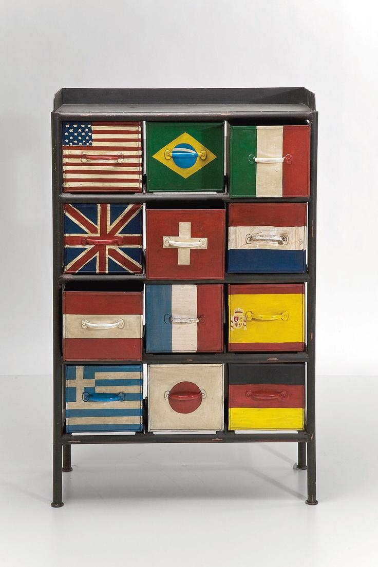 Kare Design :: Komoda Flags 12 Szuflad | MEBLE \ Komody I Szafki | Kare