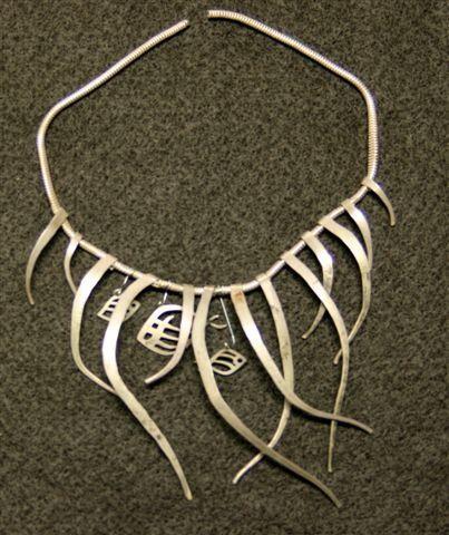 Exotic Silversmith Jewelry | Necklace | Alexander Calder
