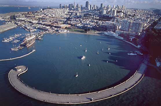 San Francisco Maritime National Historical Park. This is where we swim. #NoButtsintheBay
