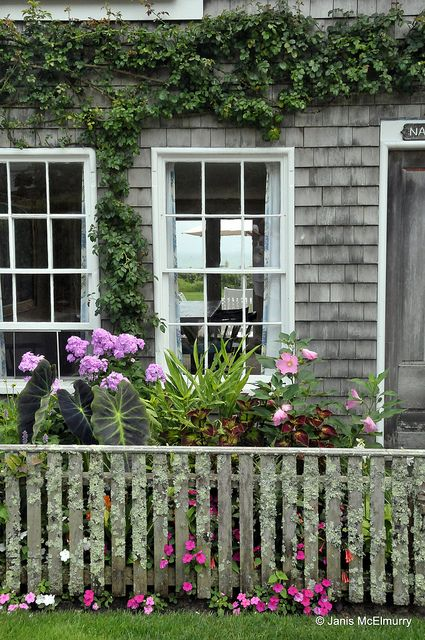 ~Nantucket cottage - Sconset   ~ Nauma 1676 by Jan's Art, via Flickr
