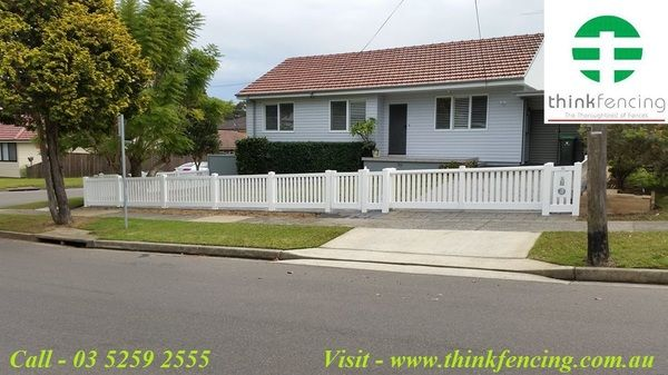 Ultra Modern Plastic Picket Fencing Install Your Home. Think Fencing is Plastic Picket Fencing Install in Australia. We designed an extensive range of picket styles and configurations to suit every home - from the ultra modern to traditional period styles.