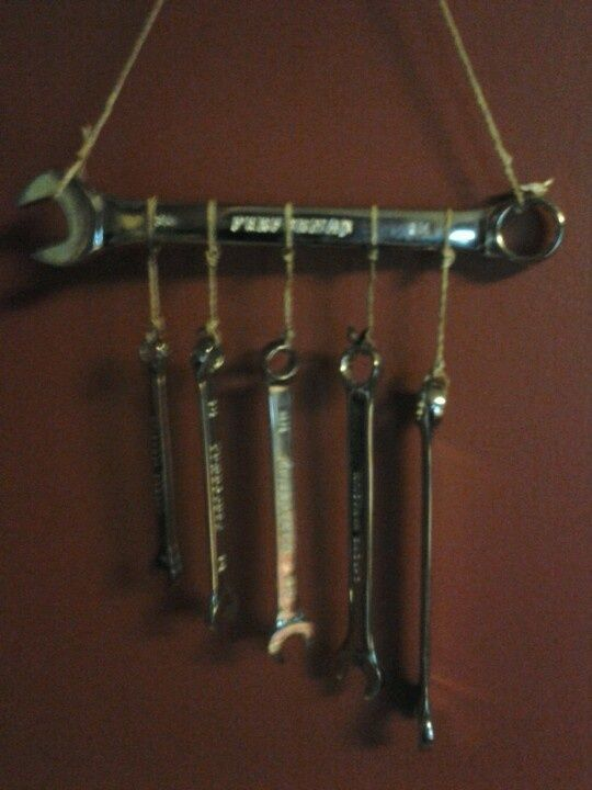 Homemade Wind Chimes | Homemade wind chimes for the guy that has every ... | CRAFTY little t ...