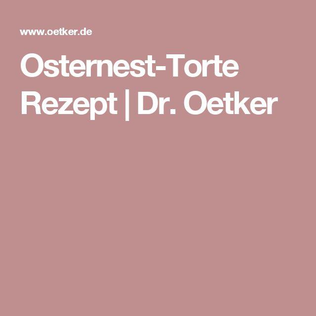 Osternest-Torte Rezept | Dr. Oetker