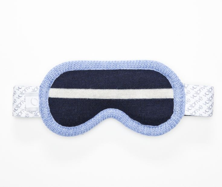Volprivé MÉDITATION eye mask from the Sydney collection.  Comes with a removable beads filled pad and its adjustable strap for a perfect comfort and light blocking effect.