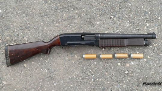 The KS-23 Shotgun,  One of the most unique shotguns in the world, the KS-23 was a pump action shotgun developed by the Russians in the 1970's.  Originally issued to Russian prison guards as a riot gun, the most unique feature of the KS-23 was its large bore, 23mm, or 6.27 gauge in American/British standards.  This was because the KS-23 was primarily created to fire less-than-lethal rounds that could easily put down a violent prisoner.  In addition the barrel with rifled instead of…
