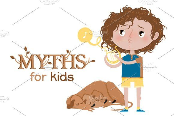 Myths for kids: Orpheus Graphics Meet the dog Cerberus and Orpheus. They're well known characters from the Greek mythology.You'll g by Side Project