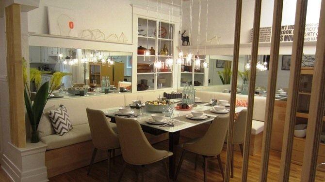 La salle à manger d'Alexandra Diaz
