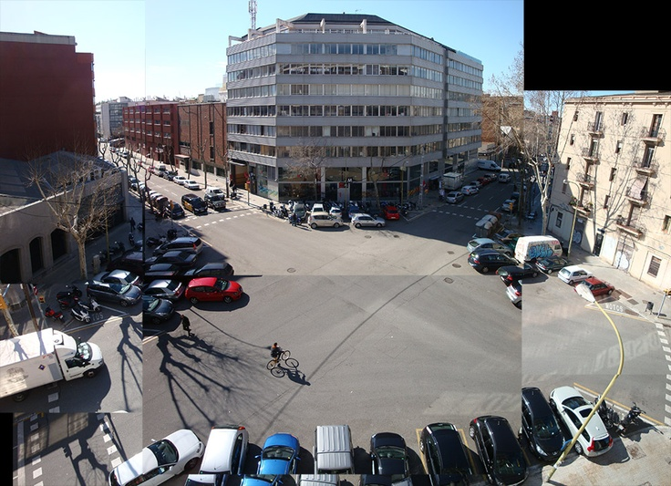 The view from the Grandyo office! - Spring has come to Barcelona