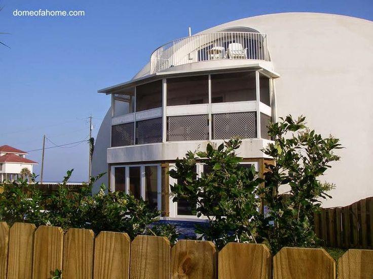 Arquitectura De Casas Casa Domo En Pensacola Beach