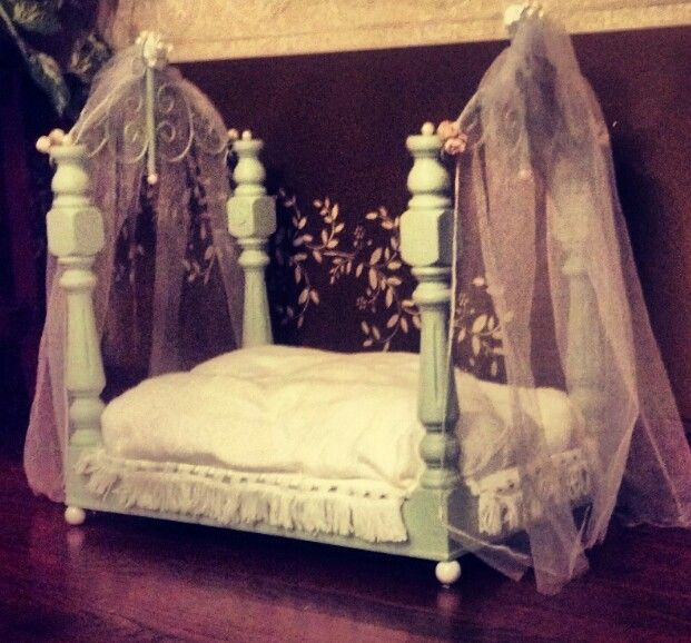 Canopy Style Bed Available For Order In These Wood Colours: 1000+ Images About DIY Canopy Dog Bed On Pinterest