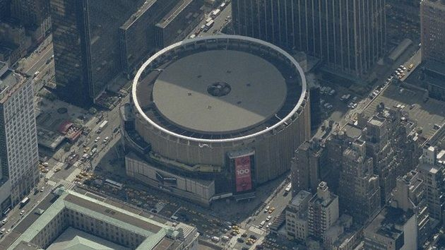 Bird's Eye View of Madison Square Garden!