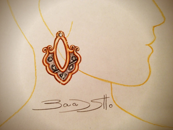 My jewelry designs drawings