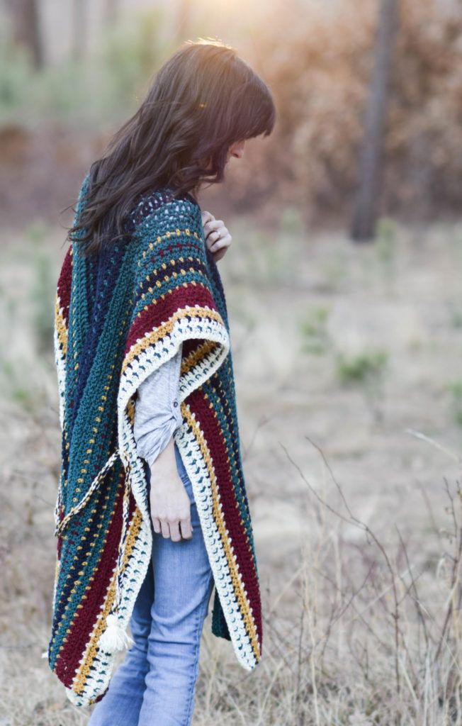 211 besten 10B. PONCHOS TO MAKE Bilder auf Pinterest | Stricken ...