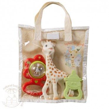 Sophie la Giraffe - Gift Bag www.naturalbabyshower.co.uk/sophie-la-giraffe-gift-bag.html