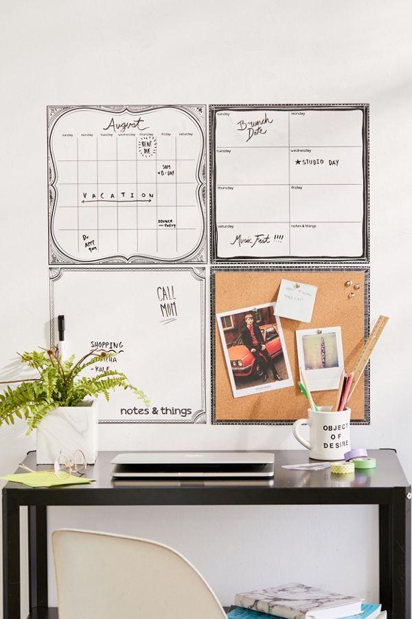 peel stick calendar dry erase board kit affiliatelink ad rh pinterest com