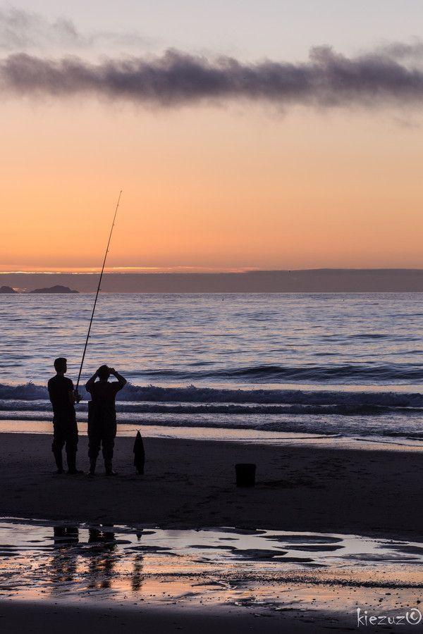 Fishermen at Sunset (Portugal)