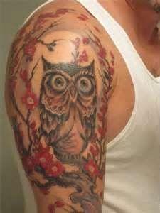 nice Tattoo Trends - Image Detail for - Fantasy 2011 Shoulders Tattoos For Girls Owl Shoulder Tattoo ...