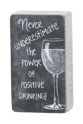 No negative vibes here! Happy Thirsty Thursday!