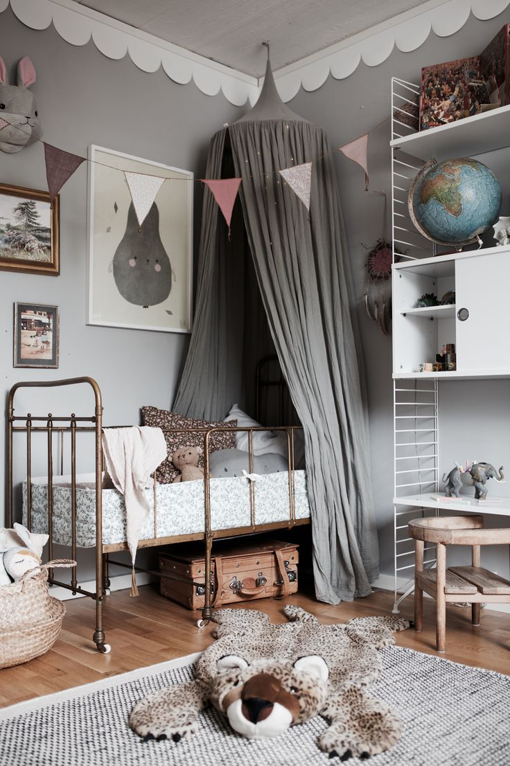 kids hanging chair for bedroom%0A Inspo overload in this image of a little kids room from Studio Elwa