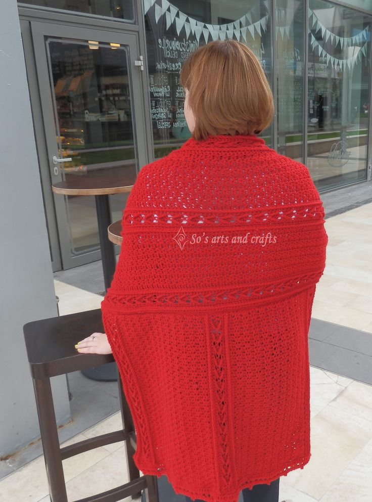 Pattern: Lisdoonvarna shawl by Bonnie Baker  Thread: Red Heart, no 5 hook