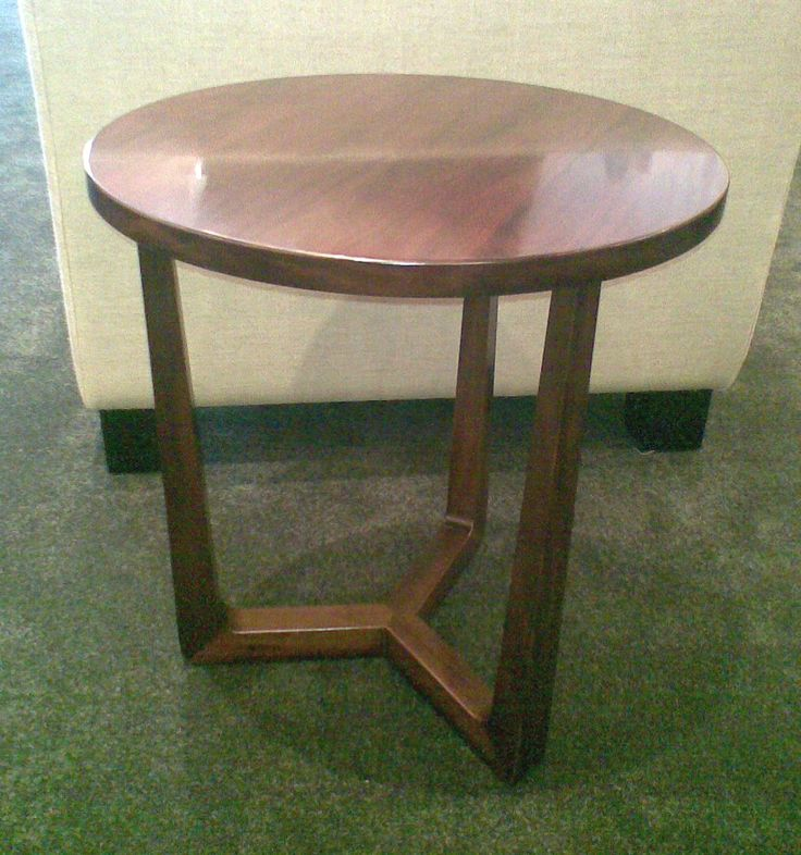 Trio side table - this brown perfect